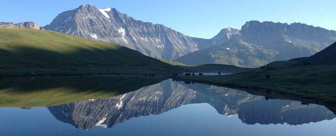 Reflet montagne - Grande Casse