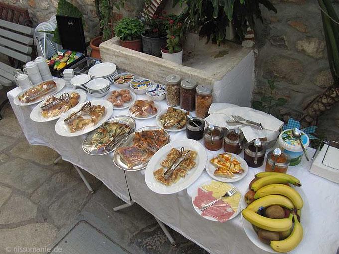 Frühstück im Erofili am Montag