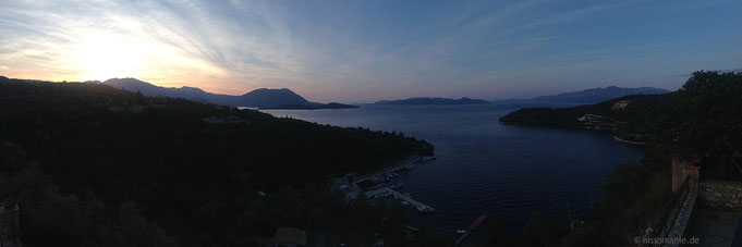 Abendlicher Balkonblick