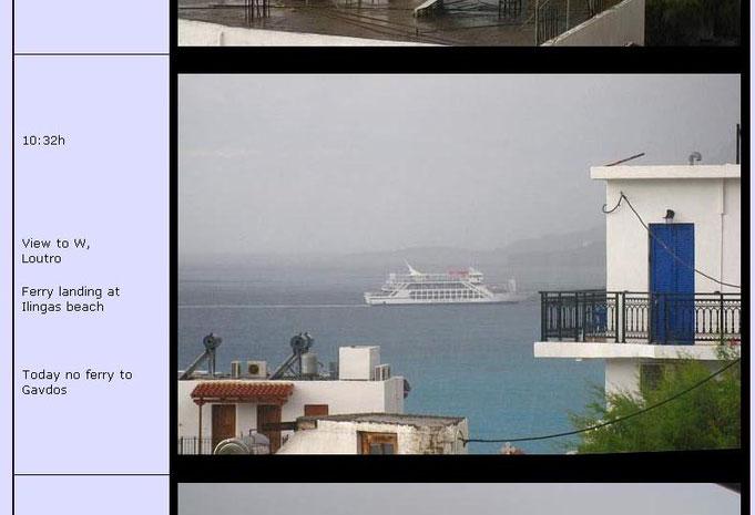So sieht das an dem Tag auf der Webcam von Wolfgang Kistler aus.  www.wkistler.de