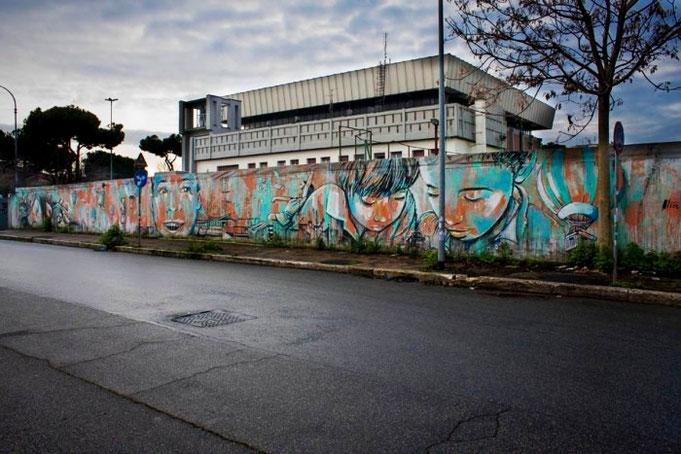 Un murales al giorno