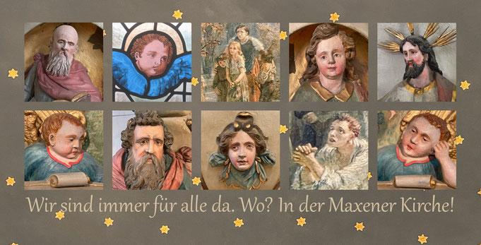 Neue Postkarte von Maxen