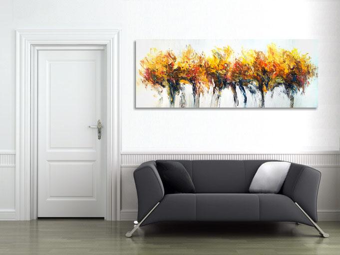 Gesamtansicht  im Raum: so wird die Atmosphäre individuell geprägt