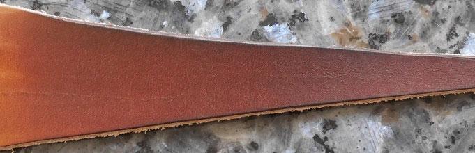 Teinture cuir base aqueuse brun-acajou