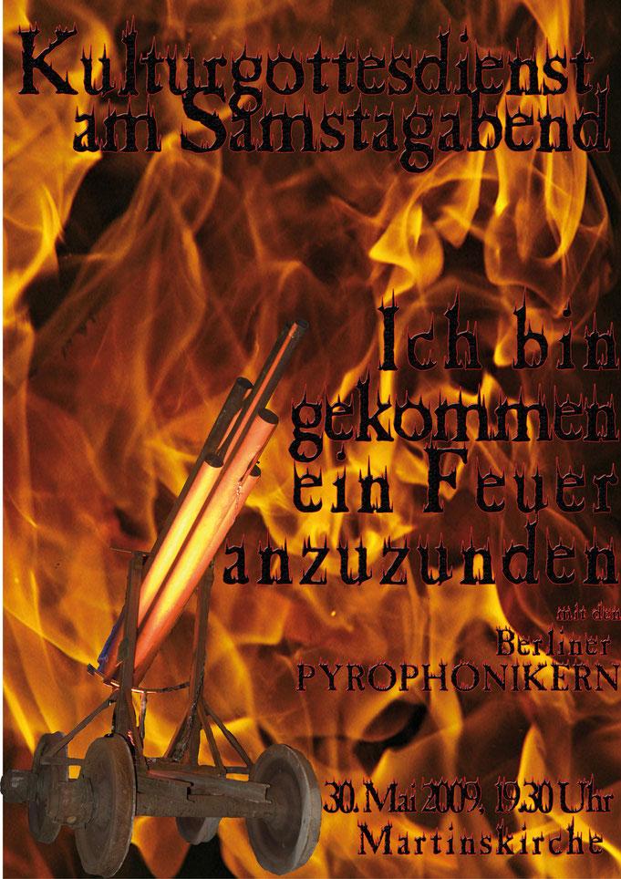 Eddie Egal Berliner Pyrophoniker Kulturgottesdienst