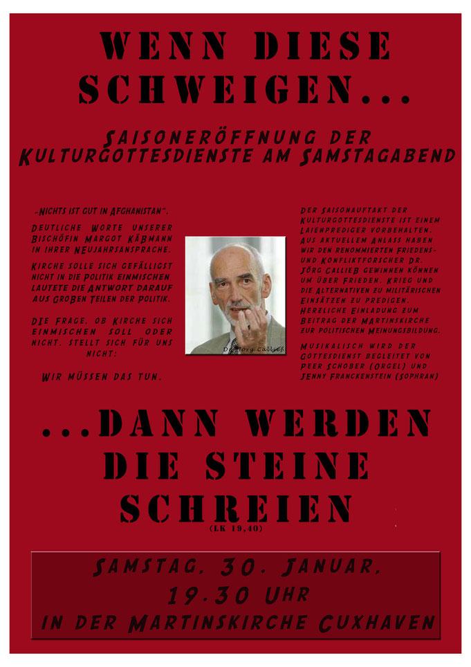 Plakat Jörg Calließ