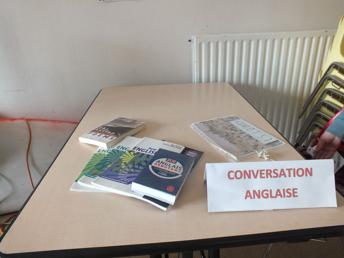 Porte ouvertes  stand conversation anglaise