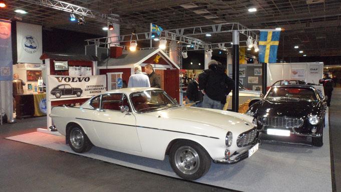 Clubstand der Bremer Volvo IG bei der Bremen Classic Motor Show