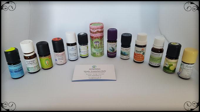 Empfehlenswerte ätherische Öle; Top 10 Marken; Aromatherapie Firmen