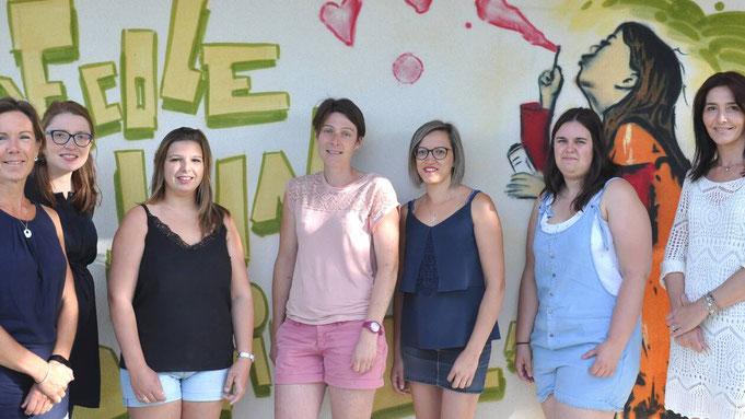 Equipe pédagogique de l'école Saint Jean Baptiste
