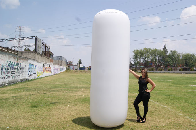 TOTEM INFLABLE, BANNER INFLABLE, TUBO INFLABLE,