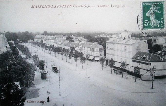 Avenue Longueil côté impair de 1900 à 1970