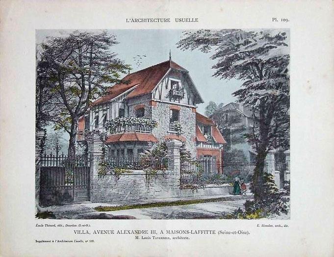 Maisons d'architectes au début du XXème diècle