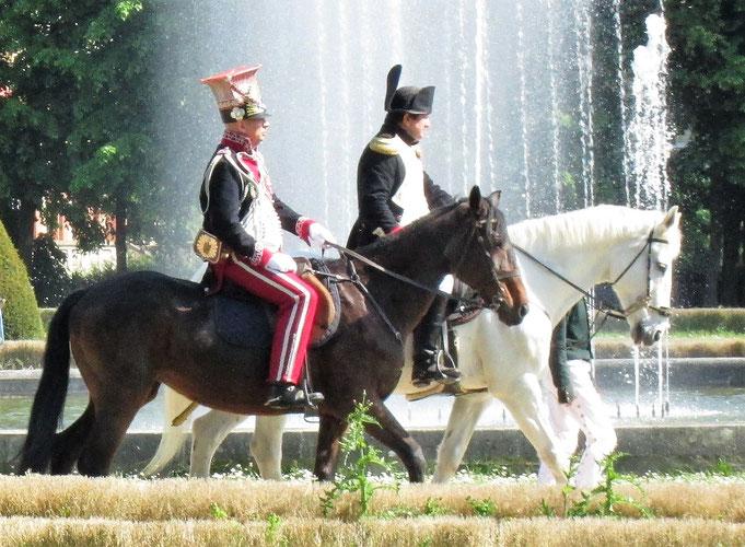 Napoléon à Maisons-Laffitte le 6 mai 2018. Photo Frédéric Henry