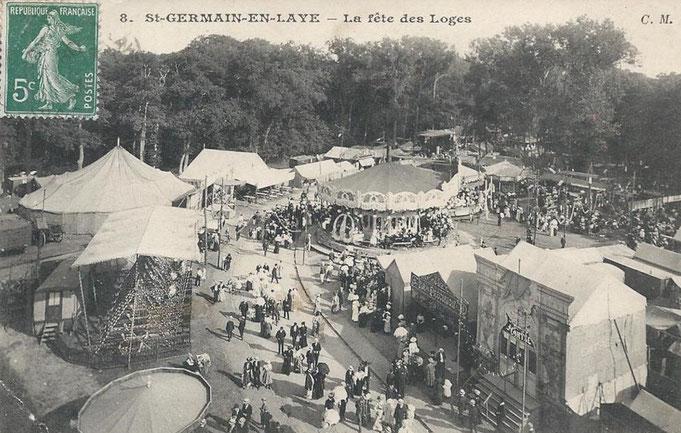 Fête des Loges en forêt de Saint Germain