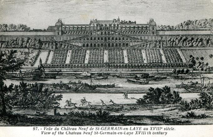 Le comte d'Artois et les châteaux de St Germain, Maisons-Laffitte et Le Mesnil-le-Roi