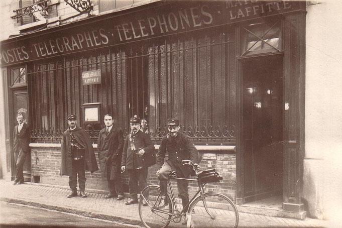 La Poste et le courrier de Maisons-sur-Seine