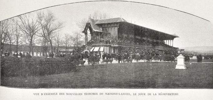 16 mars 1904, inauguration de la nouvelle tribune de l'hippodrome