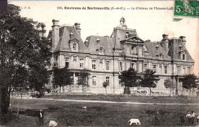 D'insolites images du château sauvé de la démolition