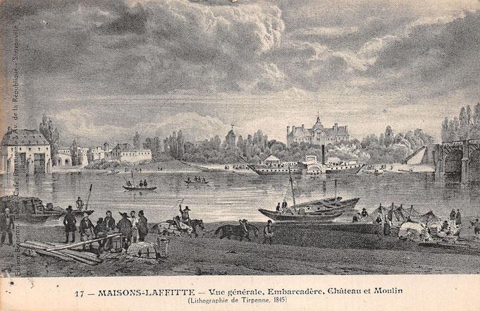 7 juin 1836, premier Paris-Rouen en bateau vapeur à aube