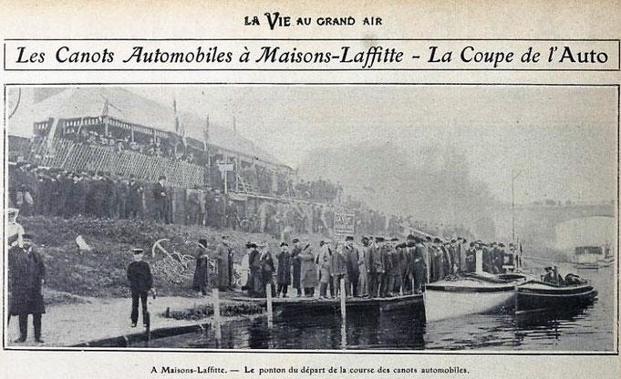 Le chantier naval Pitre pionnier des canots automobiles