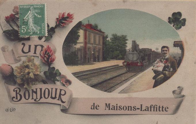 L'ancienne jolie petite gare