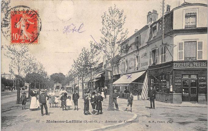 Avenue Longueil et rue du Prieuré