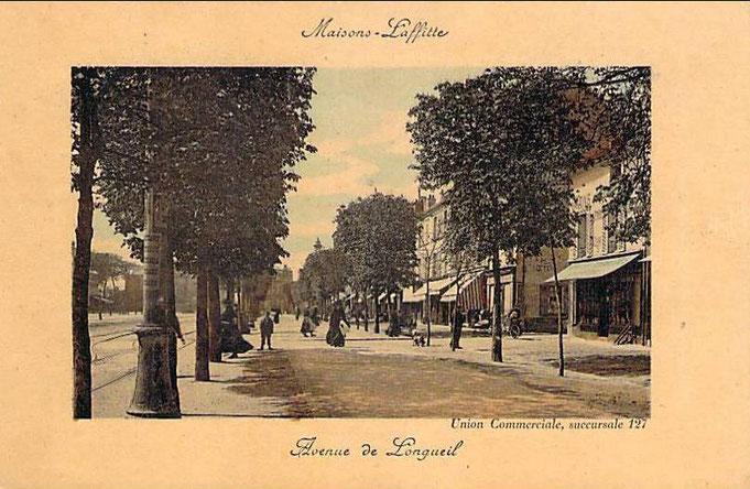 Avenue Longueil, côté pair au fil du temps