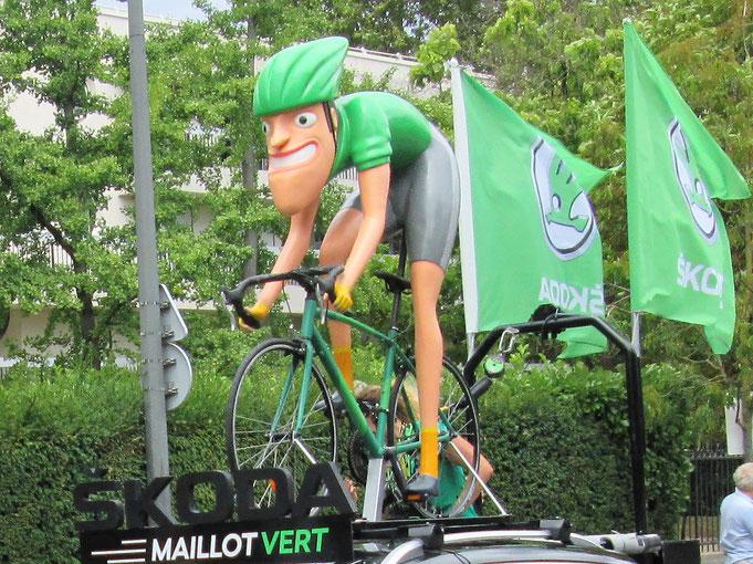 Passage du Tour de France le 29 juillet 2018