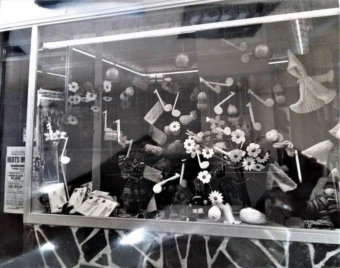 Concours  vitrine dans les années 70