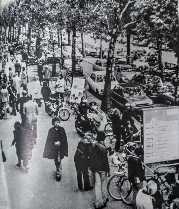 Haut de l'avenue Longueil côté pair de 1976 à 1900
