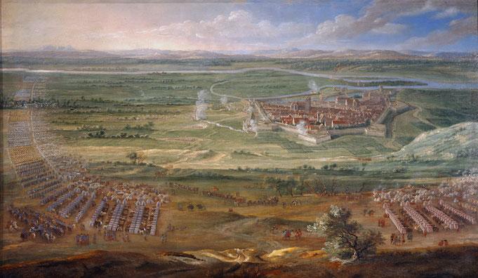 Le fort Saint Sébastien, camp d'entrainement des armées de Louis XIV