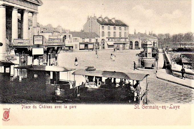 Projet inabouti de tramway St Germain-Maisons-Laffitte