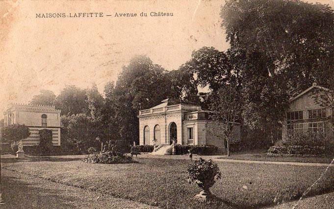 Le théâtre de la propriété du Comte de Clermont-Tonnerre, avenue du Château