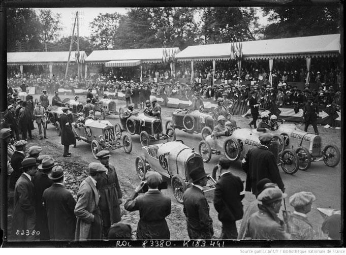 Le Bol d'Or auto et moto se courait en forêt de St Germain jusqu'en 1951