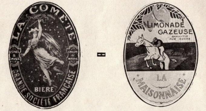 Publicités des années 20
