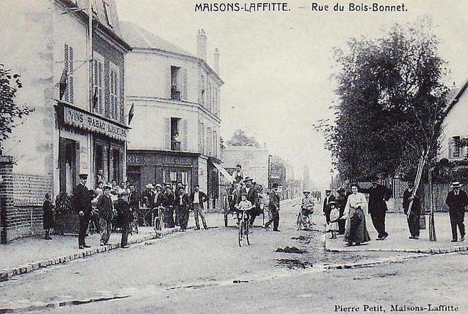 Au temps où l'avenue du Maréchal Foch s'appelait rue du Bois Bonnet
