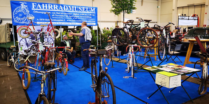 Fahrradmuseum Retz, Fahrradmuseum, Oldtimer und Waffenräder im Museum, Fritz Hurtl