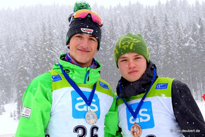 Benjamin Menz und Oscar Barchewitz - GER