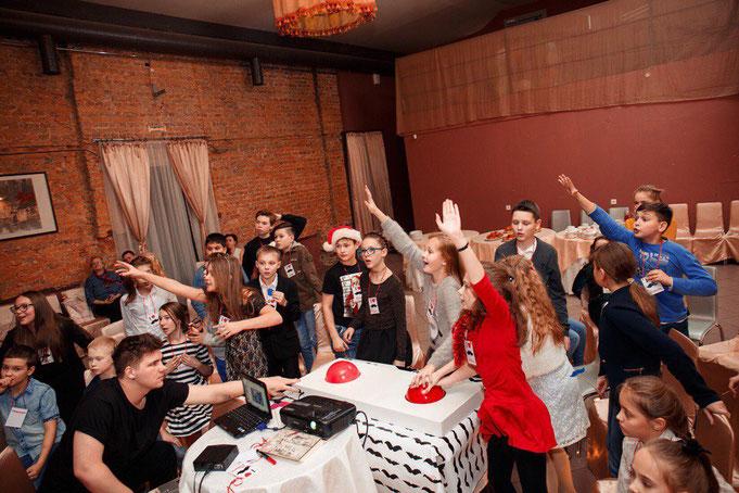 Усатая вечеринка для детей и подростков на детский праздник день рождения от агентства детских праздников Эйфория