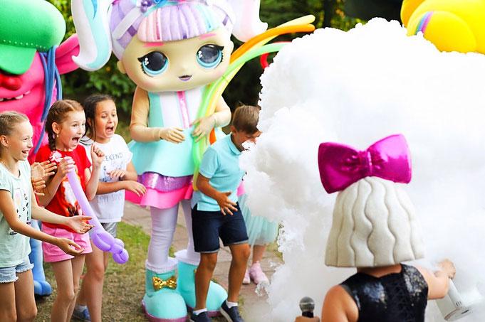 шоу куклы лол на детский праздник день рождения в Москве