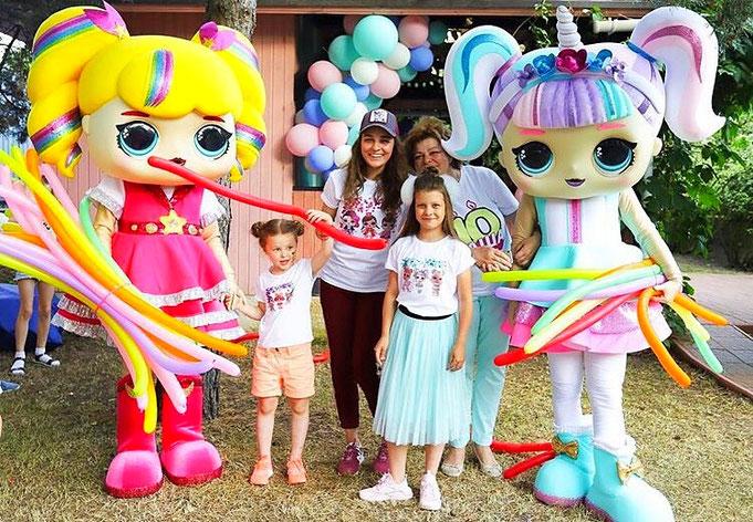шоу куклы лол на детский день рождения ребенка
