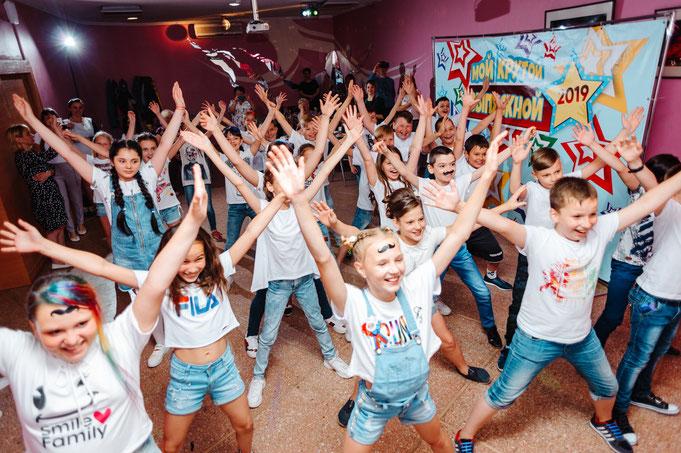 челлендж шоу на детский праздник в москве от агентства детских праздников Эйфория