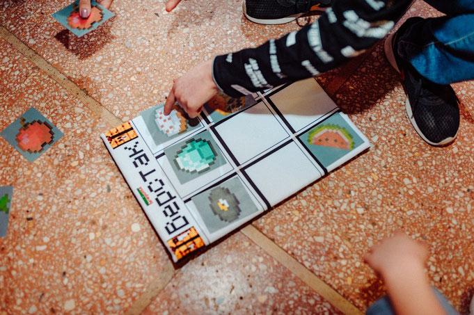 майнкрафт вечеринка для детей на детский праздник день рождения от агентства детских праздников Эйфория