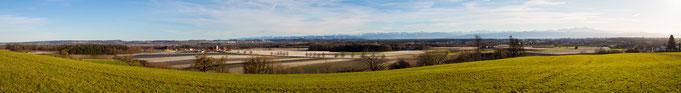 Panorama Hirschlatt Januar 2018, zum vergrößern auf Bild klicken