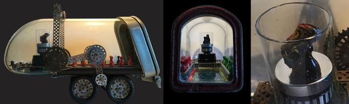 """UpcyclingSkulptur: """"Umarmung"""" Denken - Fühlen - Erleben"""