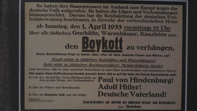Deutschland 1933. Jüdisches Museum Berlin. Bild: MKR
