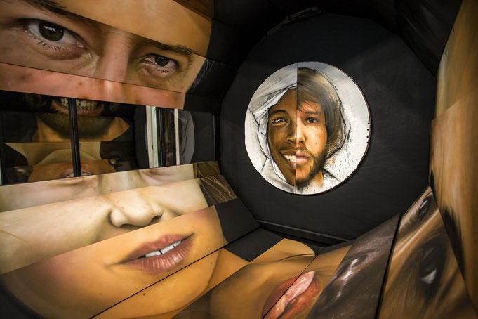 Julie Bruhier photo installation jean rooble graffiti street art transfert exposition tran5fert bordeaux 2015
