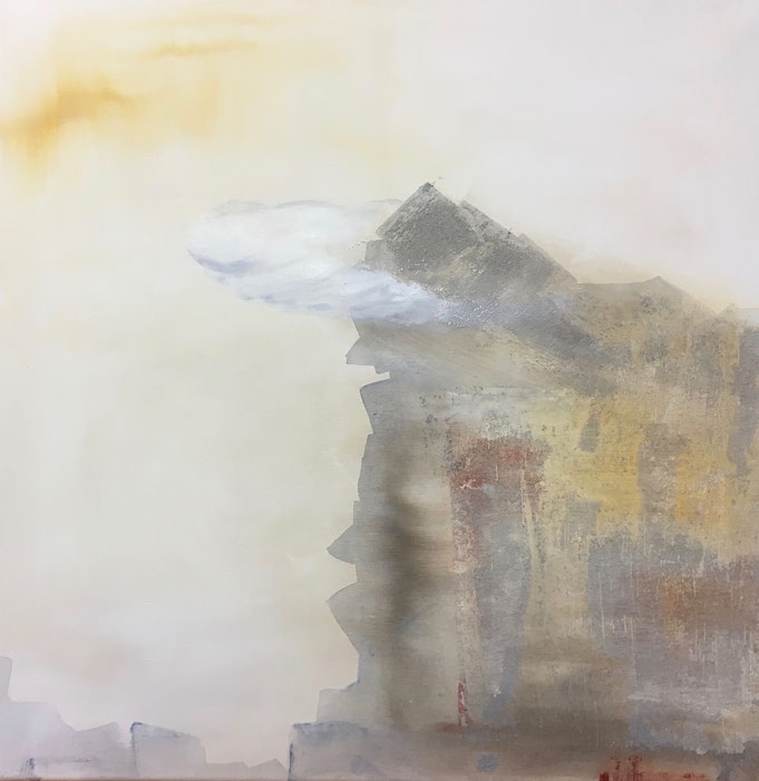 Gibraltar, Ende der Welt, Wolke um Affenfelsen