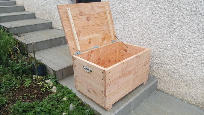 Malle A Jouets Et Caisse A Bois De Chauffage Table De